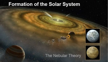 Formation of the Solar System Power Point Lessons