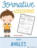 Formative Assessment {Angles}