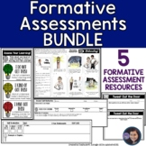 Formative Assessments  and Student Self-Reflections Bundle