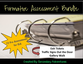 Formative Assessment Bundle for ELA