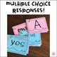 Formative Assessment Cards