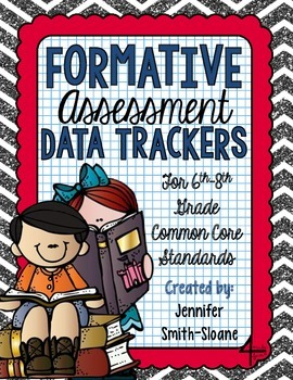 Formative Assessment Data Trackers- 6th through 8th- Align