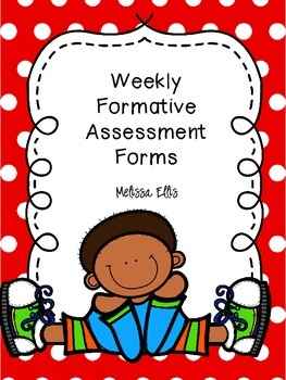 Formative Assessment Forms