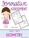 Formative Assessment {Geometry}