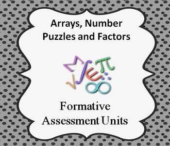 Formative Assessment Lesson: Arrays, Number Puzzles, and Factor Trees