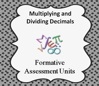Formative Assessment Lesson: Multiplying and Dividing Decimals