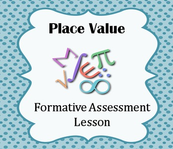 Formative Assessment Lesson: Place Value (Pieces of the Hu