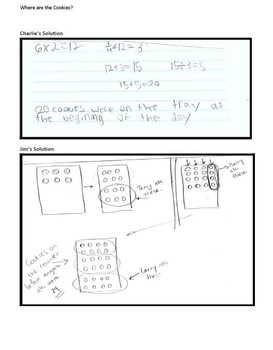 Formative Assessment Lesson: Using Fractions in Problem Solving