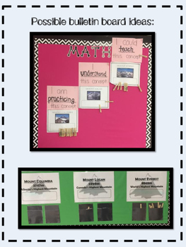 Bulletin Board Package: Formative Assessment