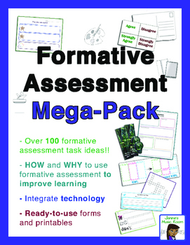 Formative Assessment Mega-Pack: K-12, ANY subject area