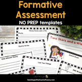 Assessment Templates | Formative Assessment | Formative As