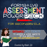 Formative Assessment Power Pack