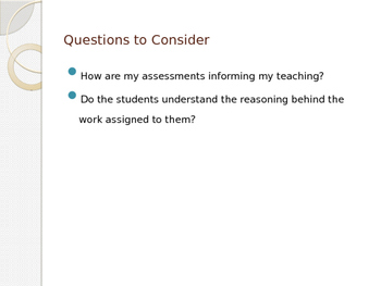 Formative Assessment PowerPoint Presentation