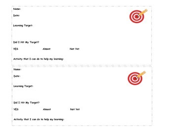Formative Assessment Record Sheets PK-5