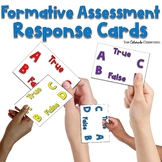 Formative Assessment Response Cards