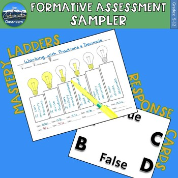 Formative Assessment - Sampler