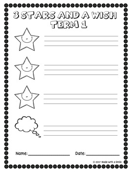Formative Assessment Self-Reflection Sheets