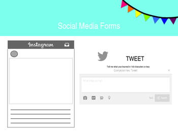 Formative Assessment Social Media Forms