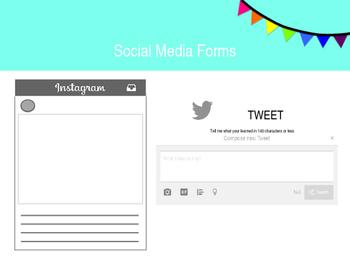 Formative Assessment Social Media Forms