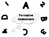 Formative Assessment Student Engagement Sheet