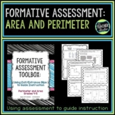 Formative Assessment Toolbox:  Area and Perimeter Grades 4-5
