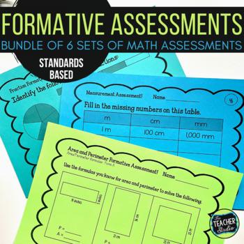 Formative Assessment Slips BUNDLE