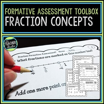 Formative Assessment Toolbox:  Fraction Concepts Grades 3-5