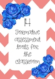 Formative Assessment Tools Pack