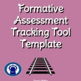 Formative Assessment Tracking Tool Template