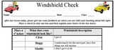 Formative Assessment - Windshield Check