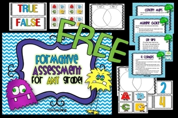 FREE Formative Assessment for ANY Grade!