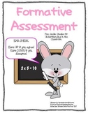 Formative Assessment freebie