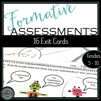 Formative Assessment Exit Cards