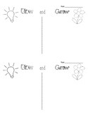 Formative Assessments / Exit Tickets - Glow & Grow, 2 Star