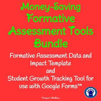 Formative Assessments Tools Bundle