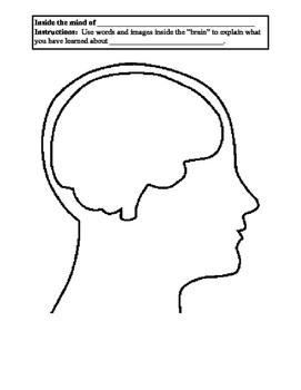 Formative Brain Graphic Organizer