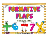 Formative Flaps: Math Flap Books {Freebie!}