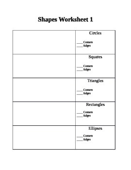 Formative Shapes Test