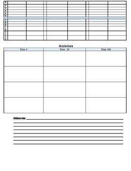 Formative assessment checklist revised