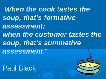Formative v. Summative Assessment - Training Ppt.