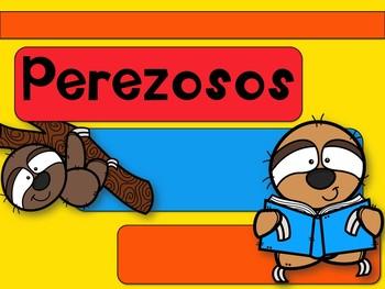 Formato de presentación PPT editable Tortugas/Globos/Perezoso