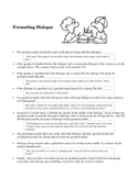 Formatting Dialogue Handout