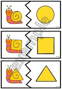 Formes: casse-têtes (escargots)