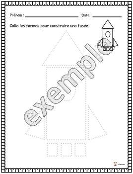 Formes: construire une fusée