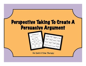 Forming A Persuasive Argument