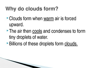 Forming Clouds Power Point