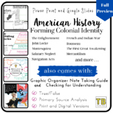 Forming Colonial Identity PPT, Note Taking & Checking for