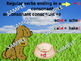 Forming Past Tense Verbs COMPLETE ANiMATED LESSON + Activities FREEBIE
