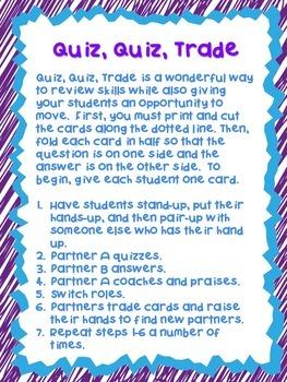 Forming Plural Nouns Quiz, Quiz, Trade
