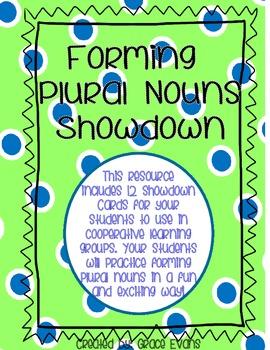 Plural Nouns: Showdown Activity